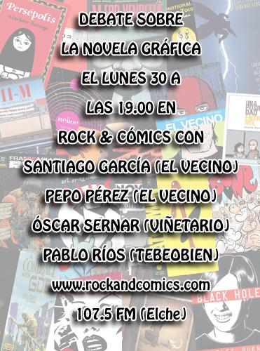 Novela Gráfica en Rock & comics